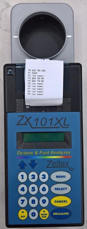 Thiết bị đo nhanh octan, cetan trong xăng dầu ZX-101XL