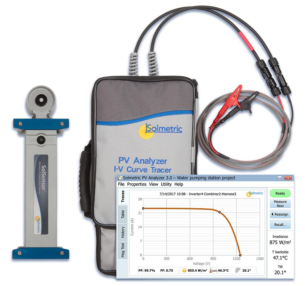 Thiết bị kiểm tra pin năng lượng mặt trời PVA-1500